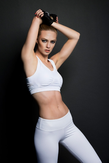 nike fitness models